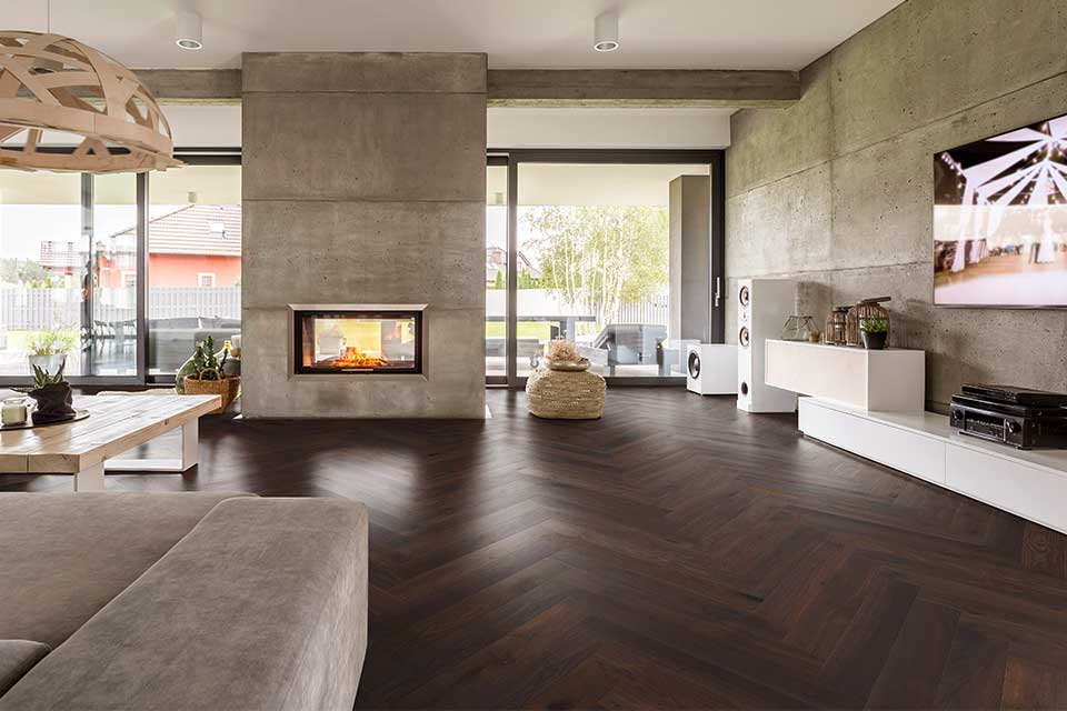 Woodline Parquetry Herringbone XL Collection