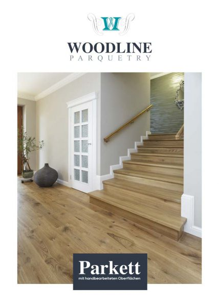 Woodline Parquetry Prospekt Cover