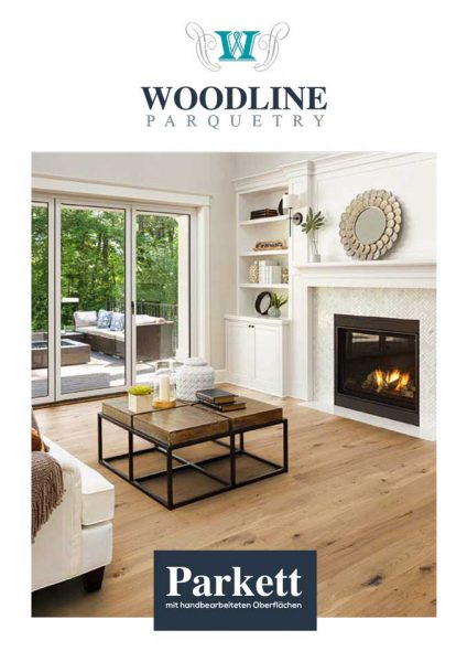Woodline Parquetry Prospekt Cover